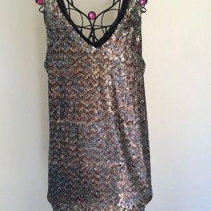 Sam Edelman new sparkly short dress XS